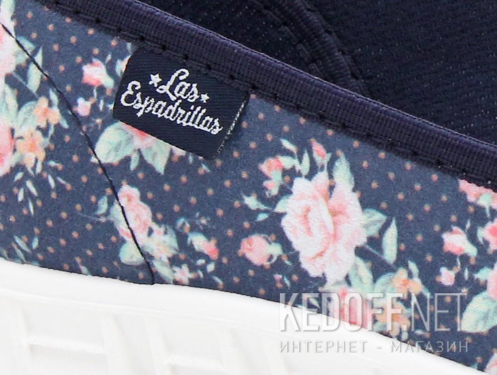 Балетки Las Espadrillas 42635-8034SP   (розовый/синий) все размеры