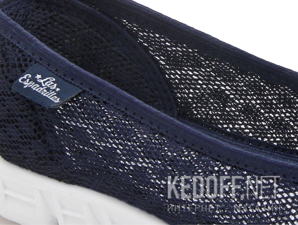 Спортивні балетки Las Espadrillas Navy Summer Mesh 32636-89 Motion Foam