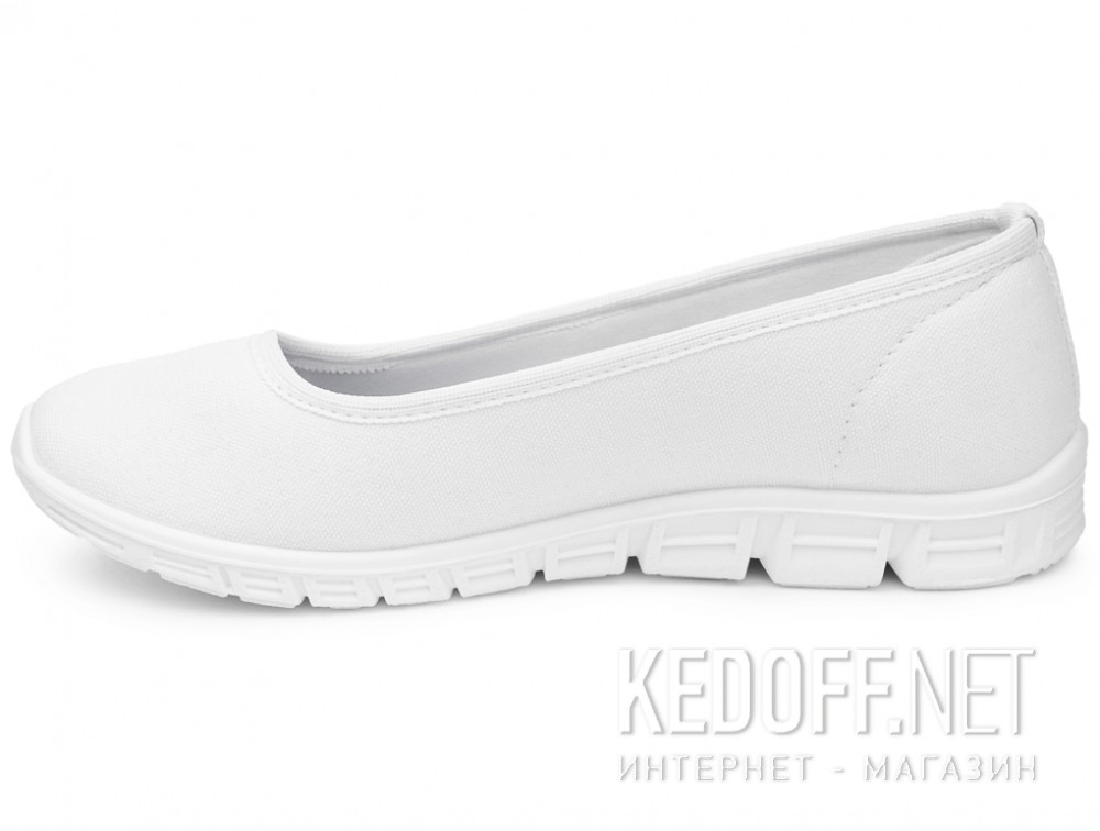 Спортивные балетки Las Espadrillas Motion Foam 22635-13 Optical White