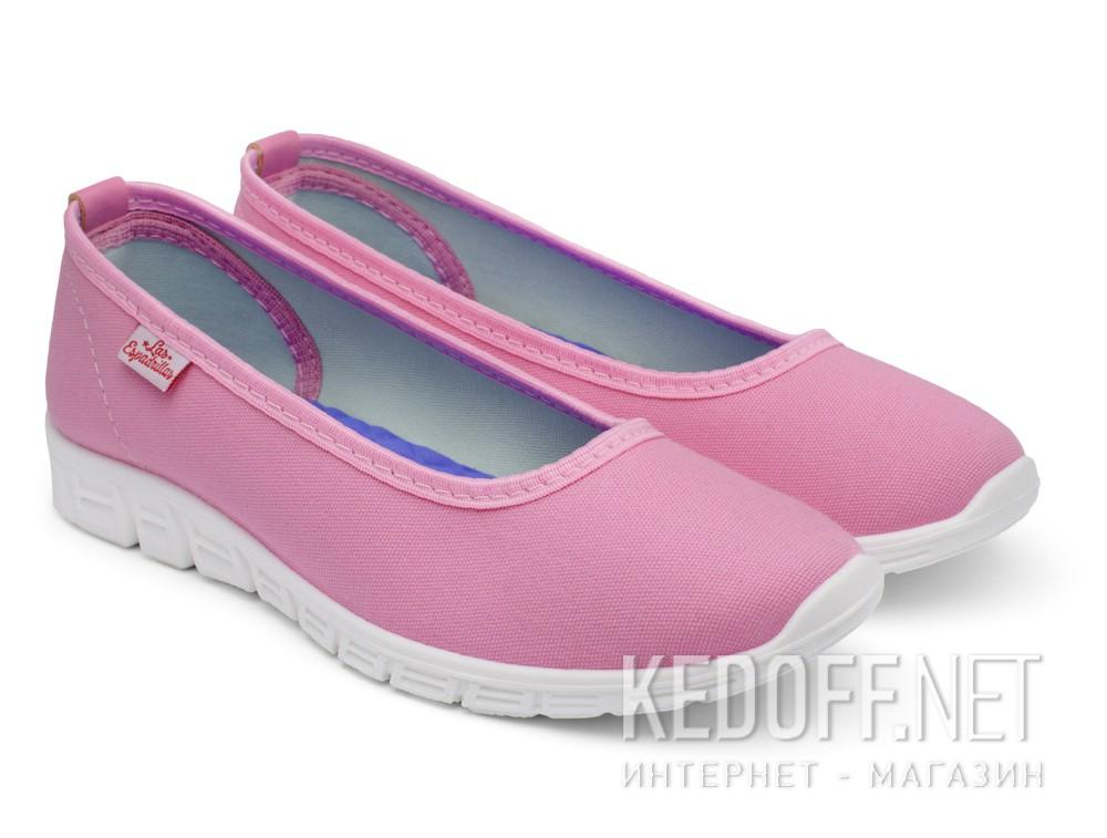 Купить Балетки Las Espadrillas 22635-3428   (розовый)
