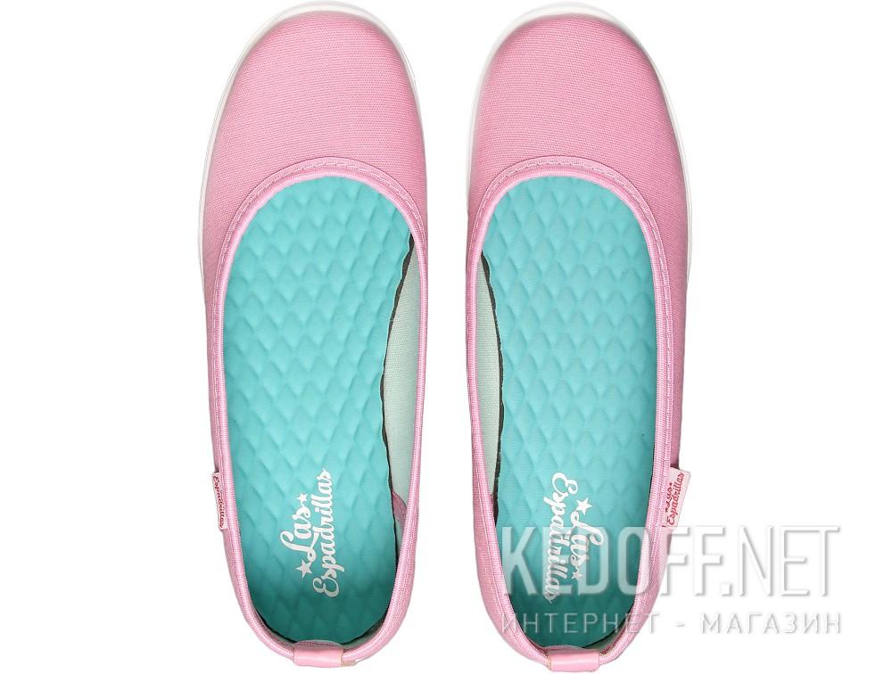 Балетки Las Espadrillas 22635-3428   (розовый) купить Украина