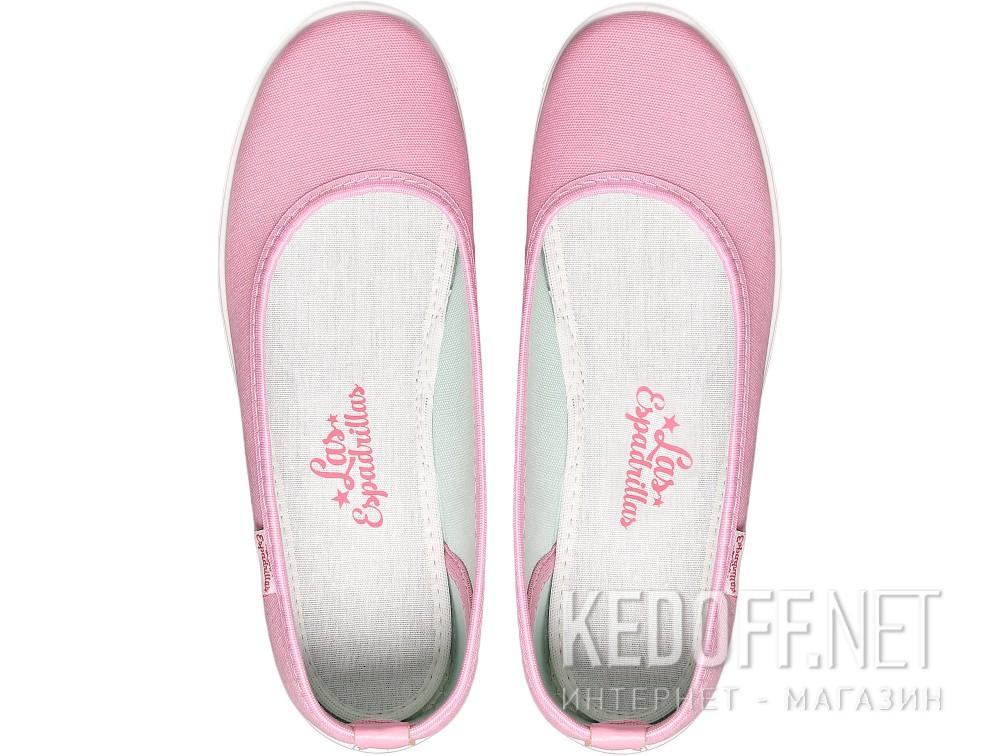 Балетки Las Espadrillas 22635-3428   (розовый) купить Киев