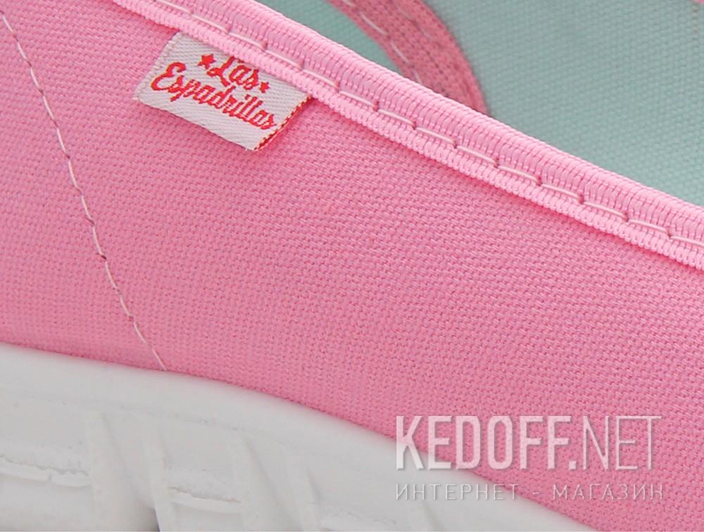 Цены на Балетки Las Espadrillas 22635-3428 (розовый)
