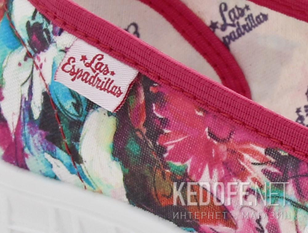Оригинальные Комфорт Las Espadrillas 22635-4628 унисекс   (мятный/малиновый)