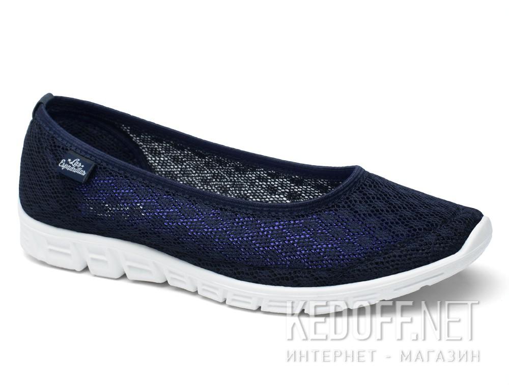 Спортивні балетки Las Espadrillas Navy Summer Mesh 32636-89 Motion Foam
