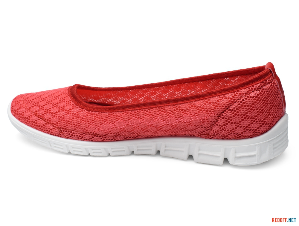 Sports ballerinas Las Espadrillas Summer Coral Mesh 32636-49