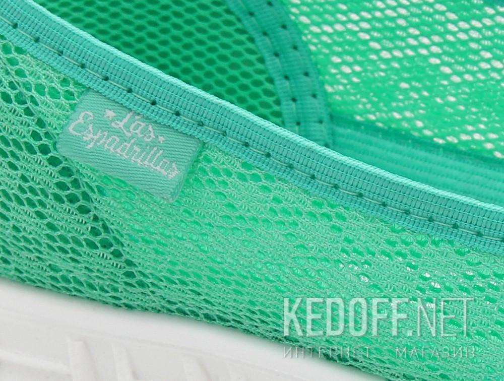 Балетки Las Espadrillas 32636-28 (Зелений)