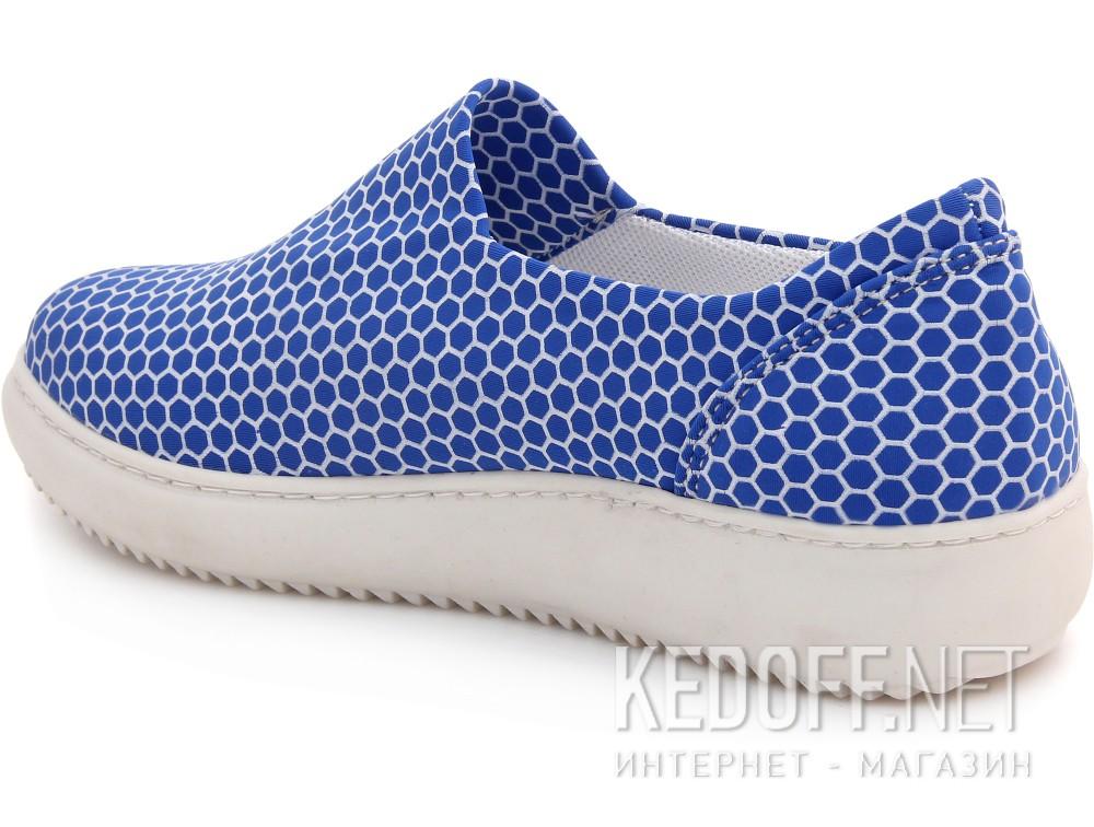 Вансы Las Espadrillas 6402-40 унисекс   (голубой) купить Украина