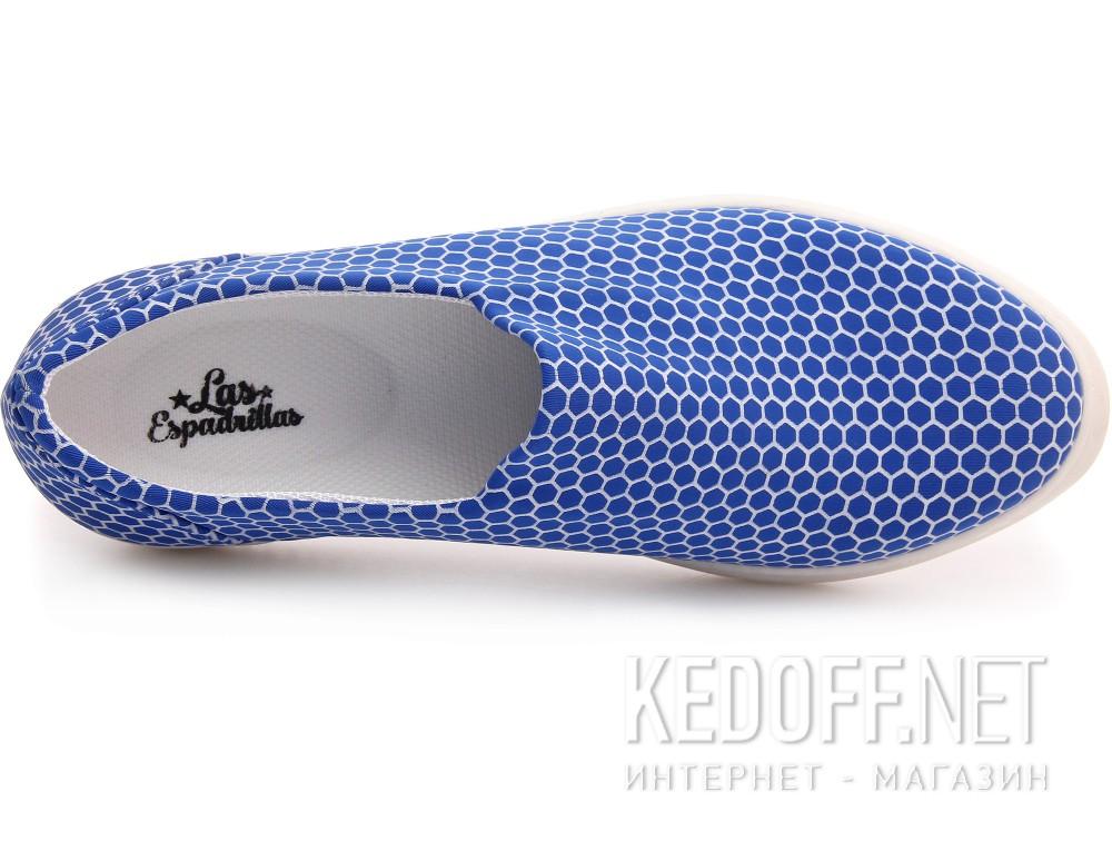 Вансы Las Espadrillas 6402-40 унисекс   (голубой) купить Киев
