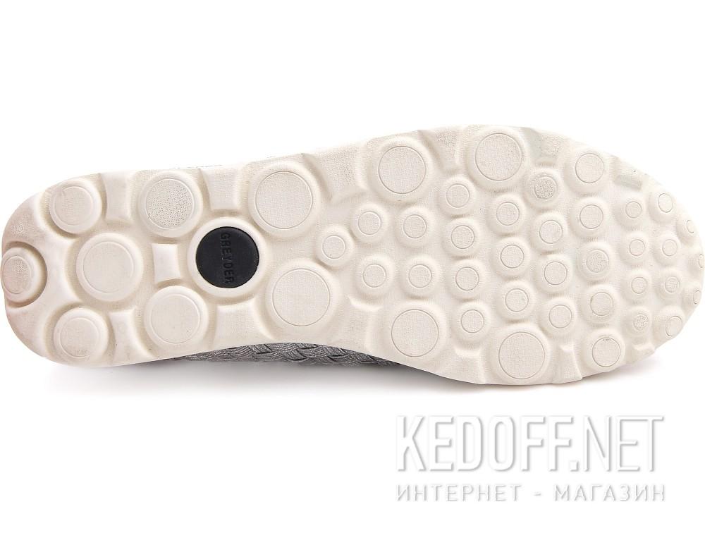 Слипоны Greyder 04059-14 унисекс   (серебряный) купить Киев