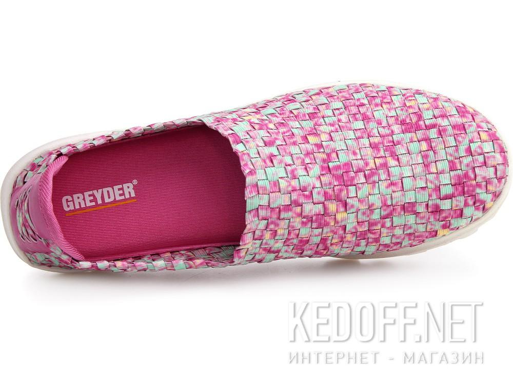 Оригинальные Слипоны Greyder 04059-34 унисекс   (розовый/фиолетовый)