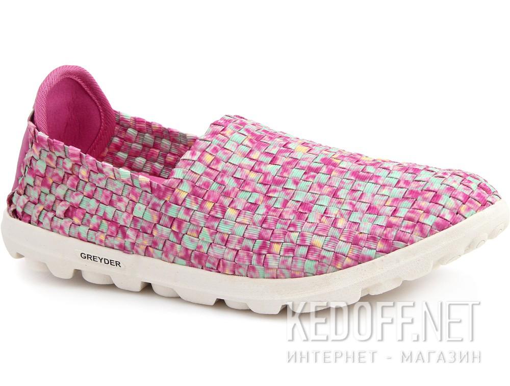 Купить Слипоны Greyder 04059-34 унисекс   (розовый/фиолетовый)
