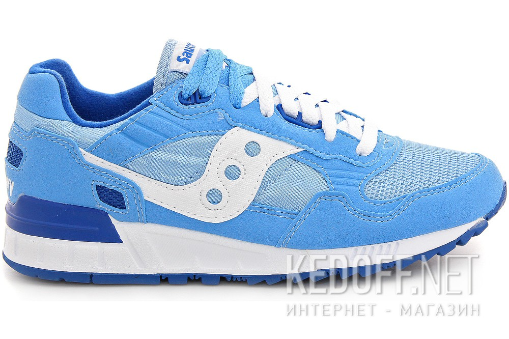 Light blue suede sneakers Saucony Shadow 5000 60033-90