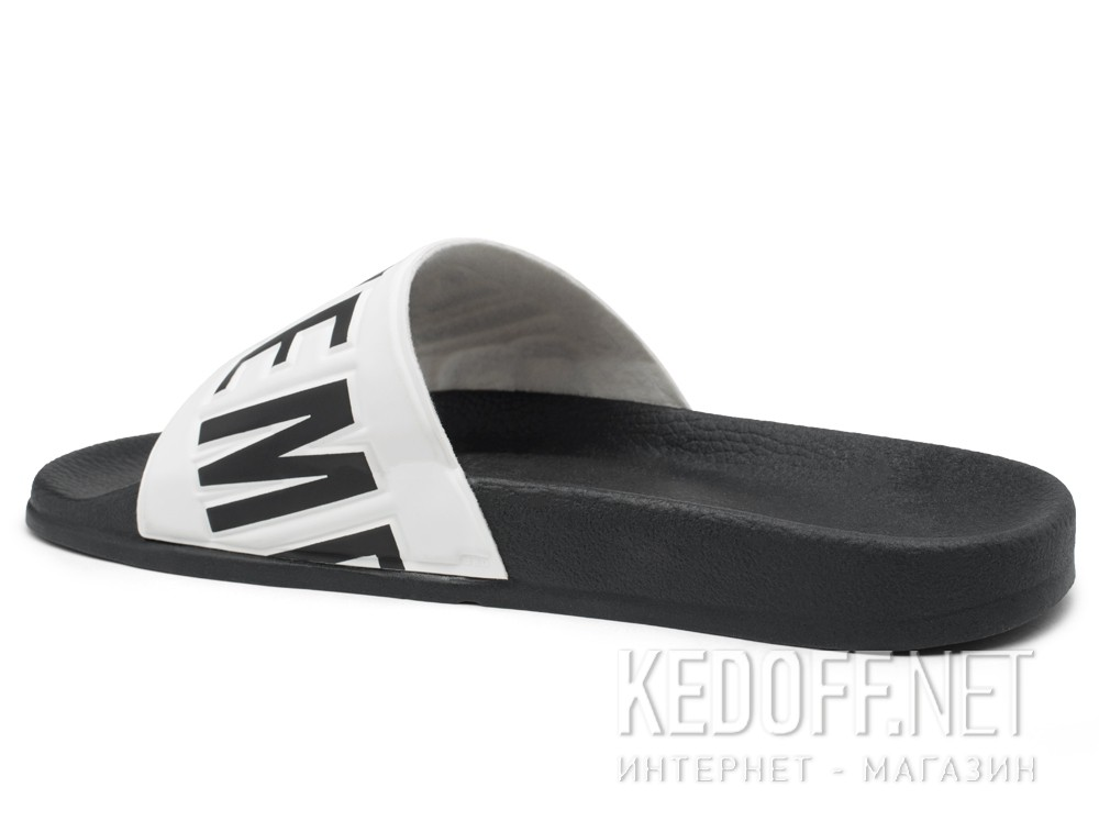 Оригинальные Slippers Dirk Bikkembergs BKE Swimm 108367-2713 Made in Italy (black/white)