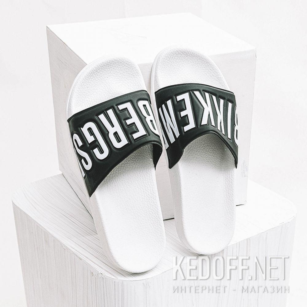 Тапочки Dirk Bikkembergs Swimm 108367-13 Made in Italy унисекс   (чёрный/белый) все размеры