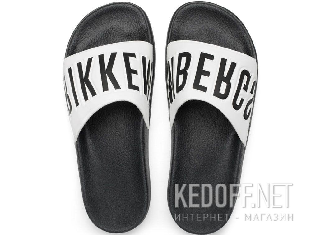 Купить Тапочки Dirk Bikkembergs Swimm BKE 108367-2713 Made in Italy  (чёрный/белый)