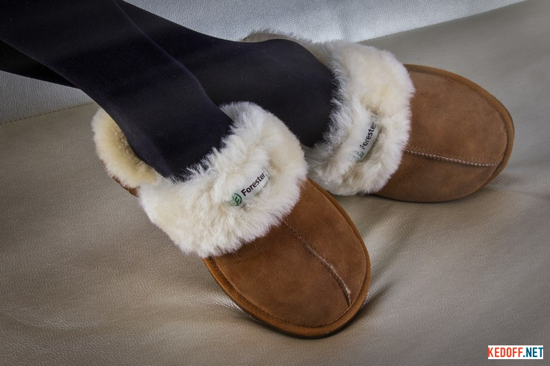 Slippers at home Forester Home 6048-1052 sheepskin