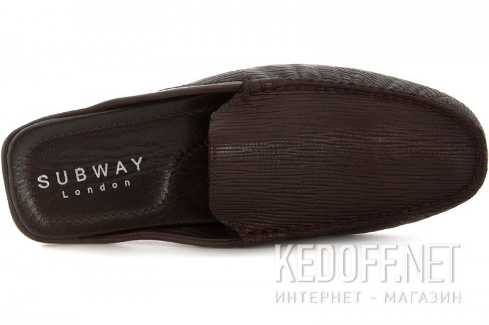 Men's Shoes Subway 7196-1RFL Chocolate