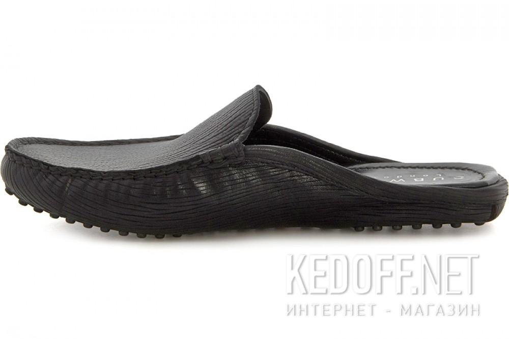 Men's Shoes Subway 7196-5RFL Black Leather