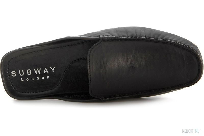 Чоловіче взуття Subway 7196GL Чорна шкіра