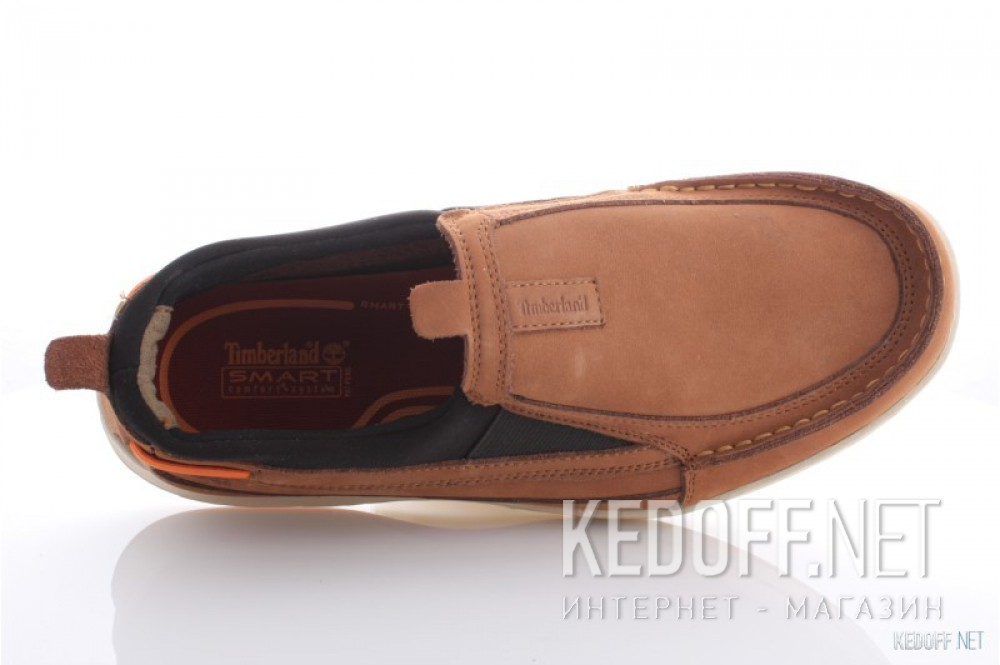 Men's boat shoes Timberland 41595=1 (brown) все размеры