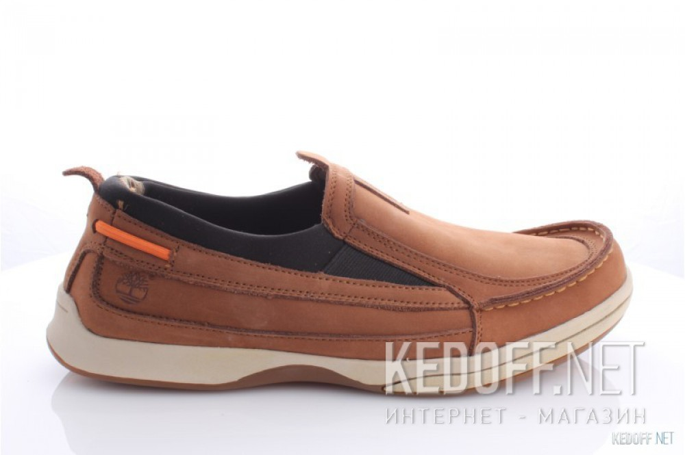 Men's boat shoes Timberland 41595=1 (brown) описание