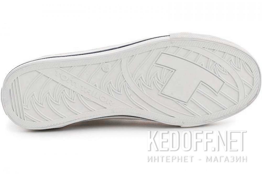 Білі кеди Tom Tailor 49086 Класичні