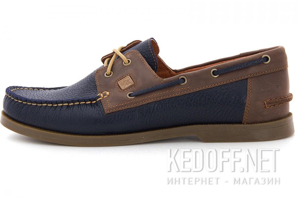 Мокасины Forester 4057 унисекс   (коричневый/синий) купить Киев