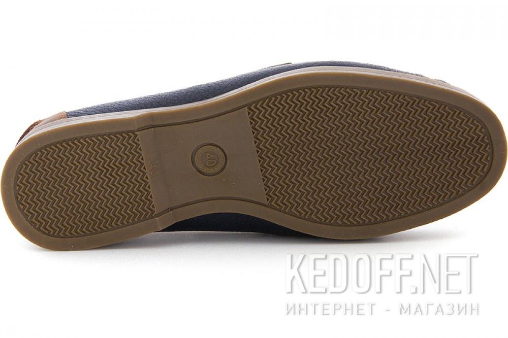 Цены на Мокасины Forester 4057 унисекс   (коричневый/синий)