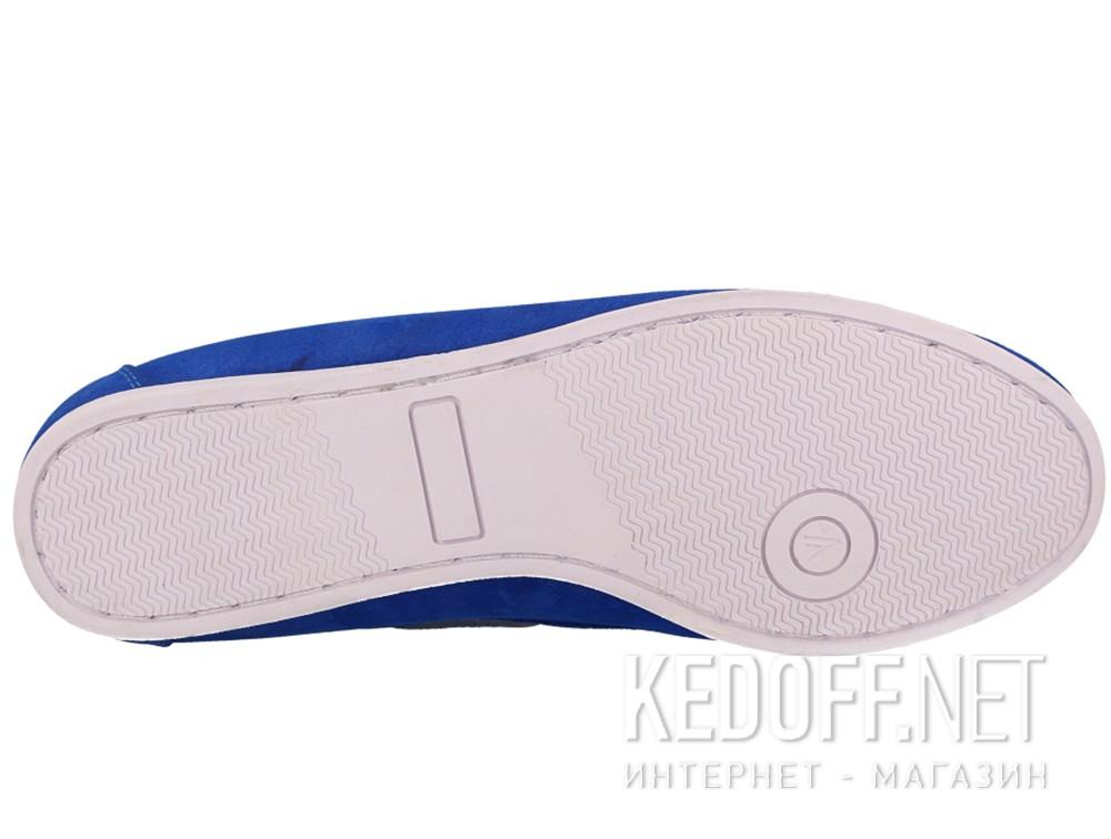 Оригинальные Мокасины Forester 6555-4013 унисекс   (синий)