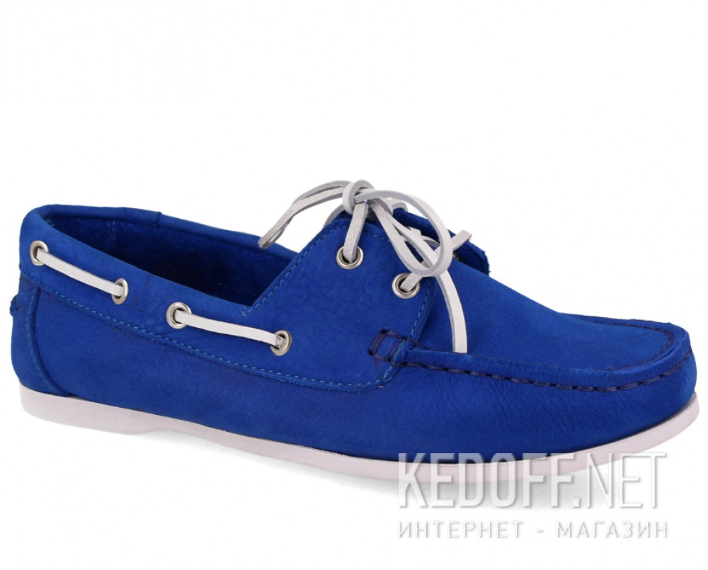Купить Мокасины Forester 6555-4013 унисекс   (синий)