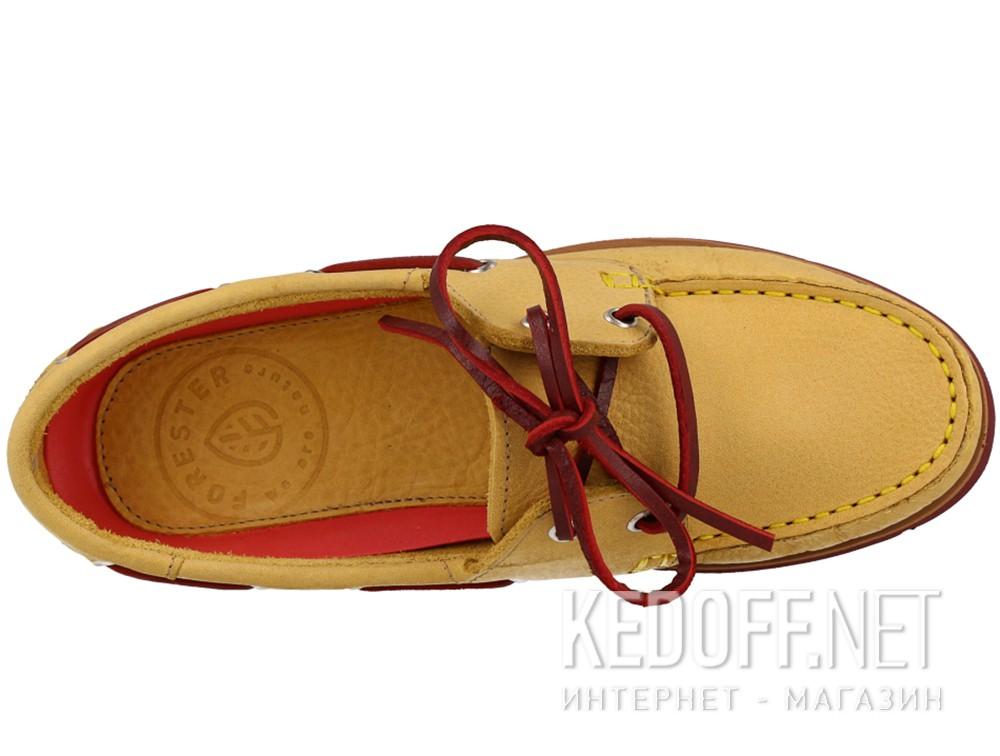 Туфли Forester 6560-2148 унисекс   (жёлтый) купить Киев