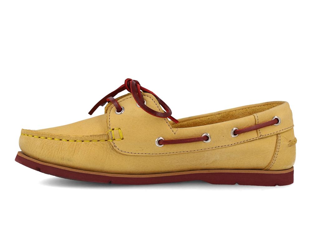 Туфли Forester 6560-2148 унисекс   (жёлтый) купить Украина