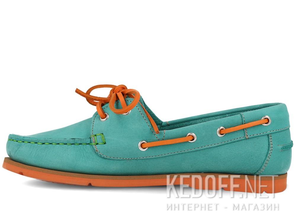 Мокасины Forester 6560-2201 унисекс   (бирюзовый/оранжевый/зеленый) купить Украина