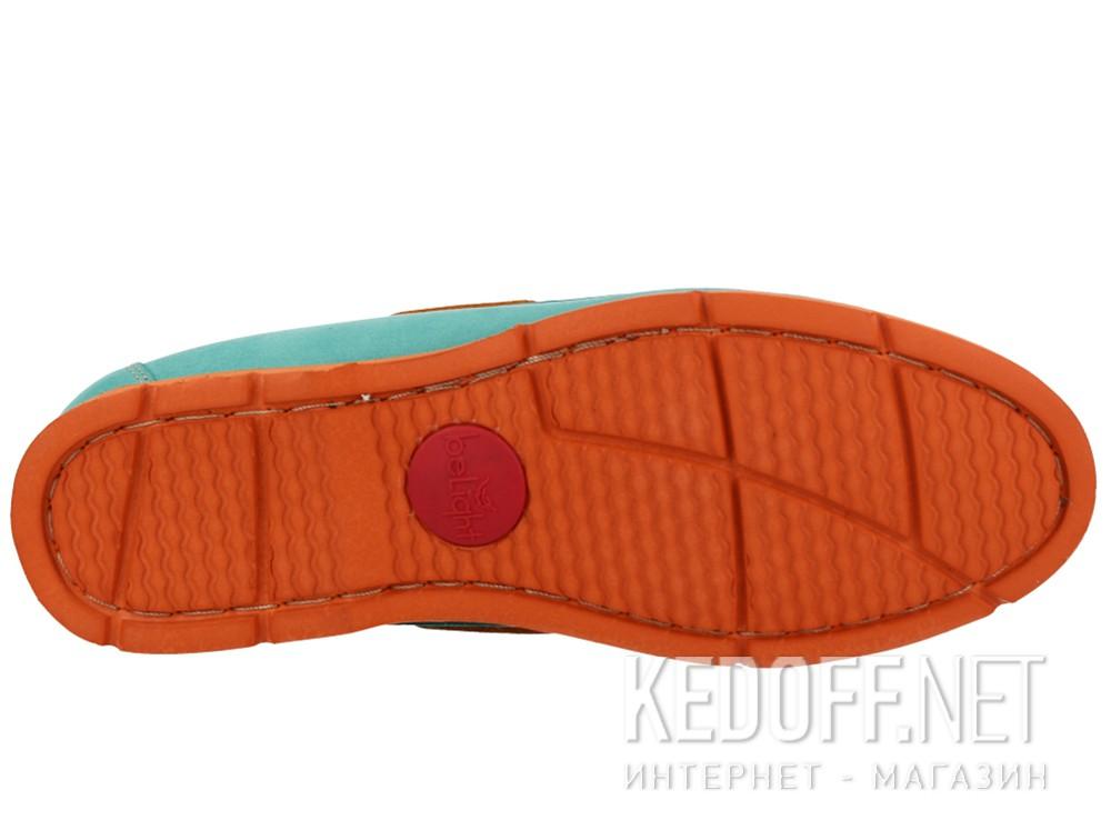 Оригинальные Мокасины Forester 6560-2201 унисекс   (бирюзовый/оранжевый/зеленый)