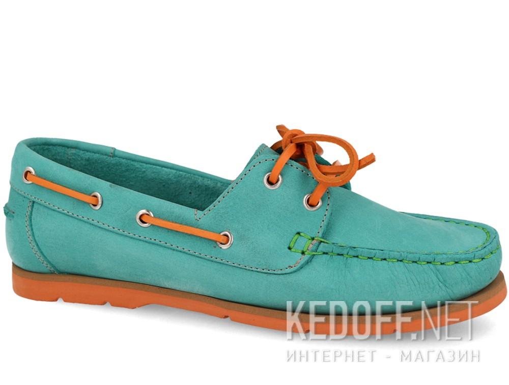 Купить Мокасины Forester 6560-2201 унисекс   (бирюзовый/оранжевый/зеленый)