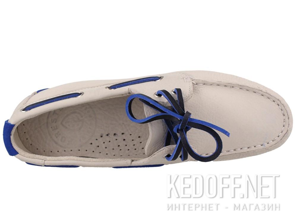 Мокасины Forester 6570-1313 унисекс   (белый) купить Киев
