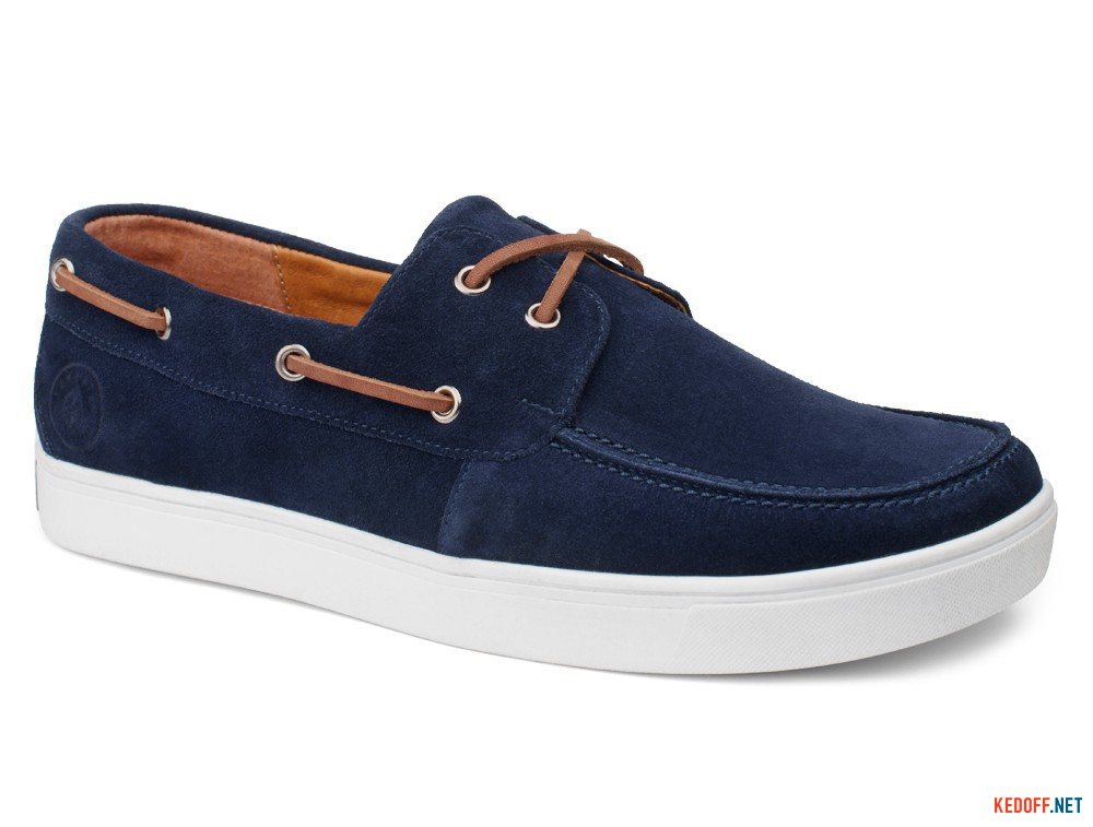 Topsiders Forester Marine Navy Suede 3543-053