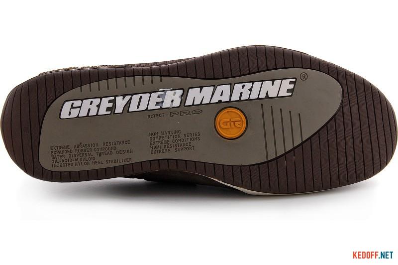 Топсайдеры Greyder Marine 00100-5464 Chokolate Nubuk