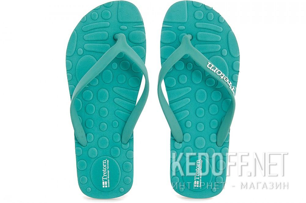 Женская пляжная обувь Tretorn 472670-08   (бирюзовый) купить Украина