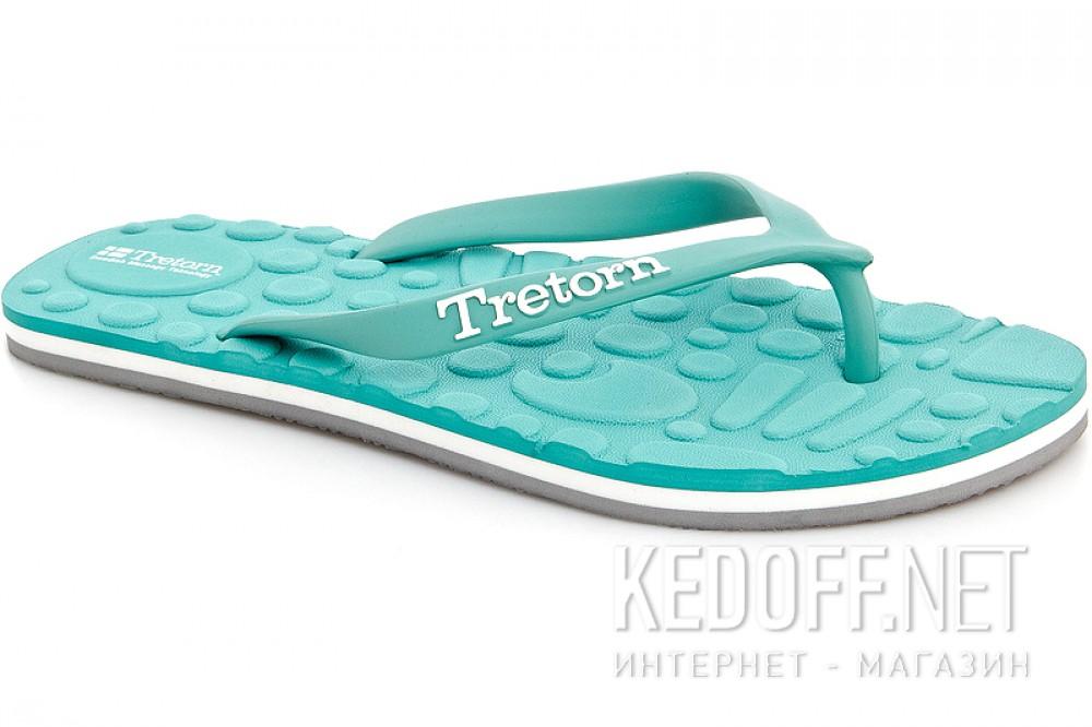 Купить Женская пляжная обувь Tretorn 472670-08   (бирюзовый)