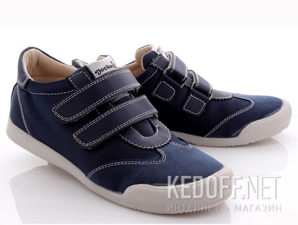 Купить Туфли Dockers 214840-205071   (синий)