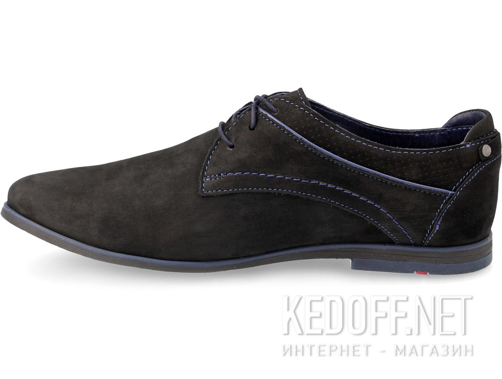 The Forester 03-0690-001 Smart Shoes Black Suede