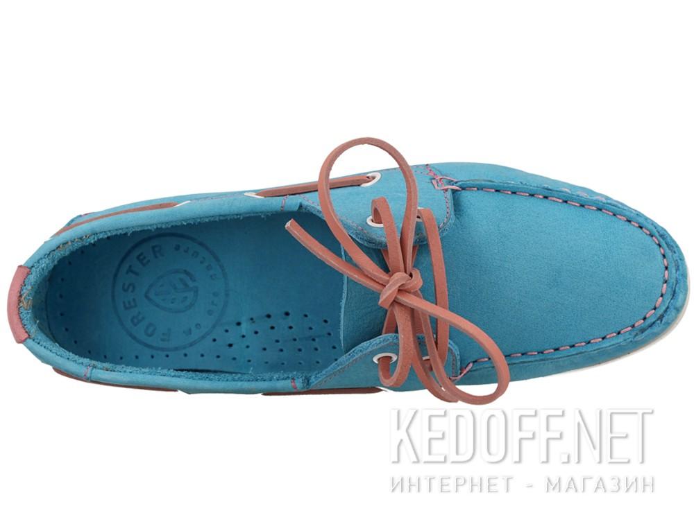 Топсайдеры Forester 6570-4213   (голубой) купить Киев