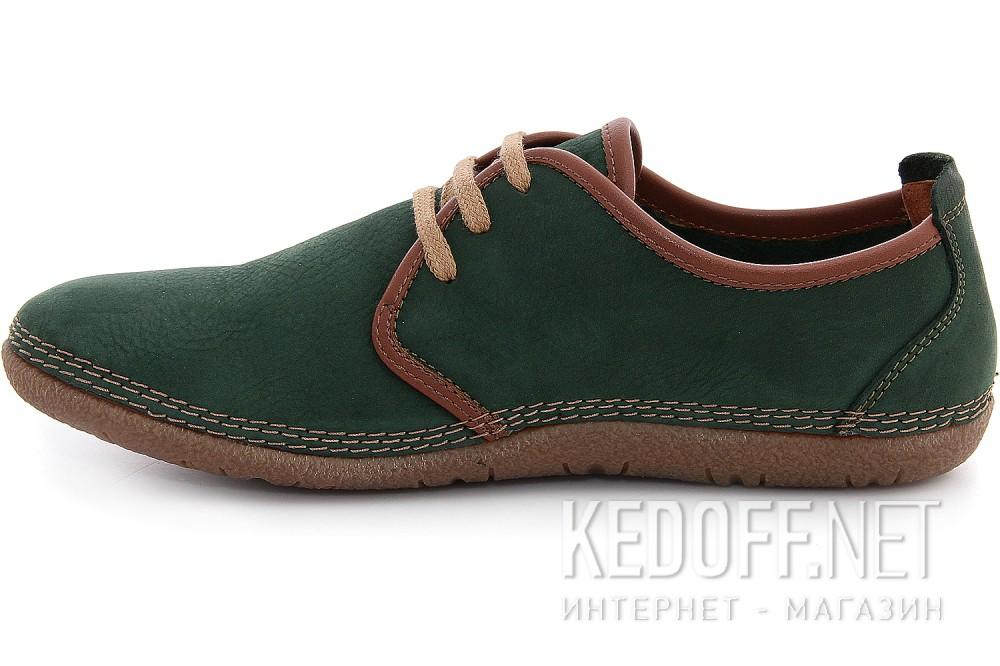 Мужские туфли Las Espadrillas 507-22   (зеленый) купить Украина