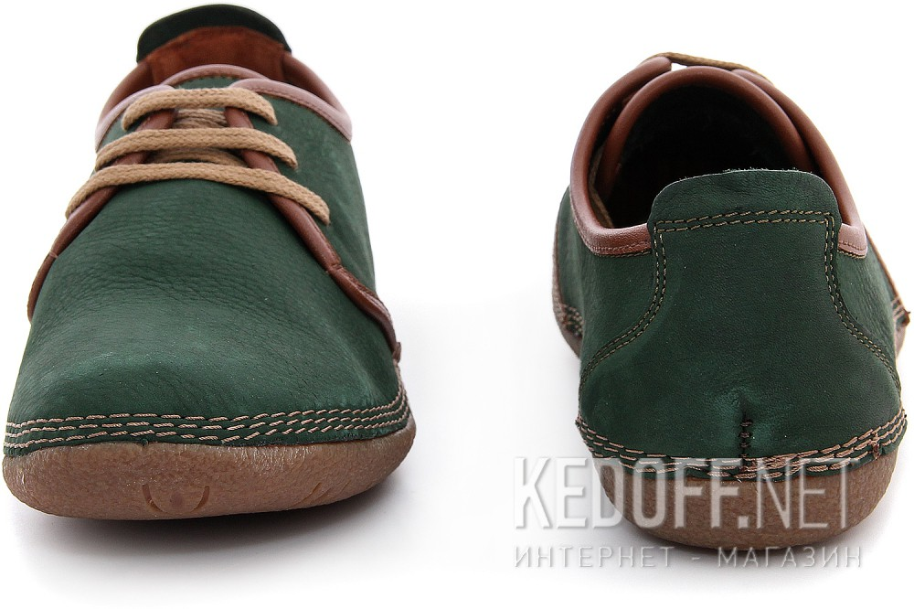 Мужские туфли Las Espadrillas 507-22   (зеленый) купить Киев