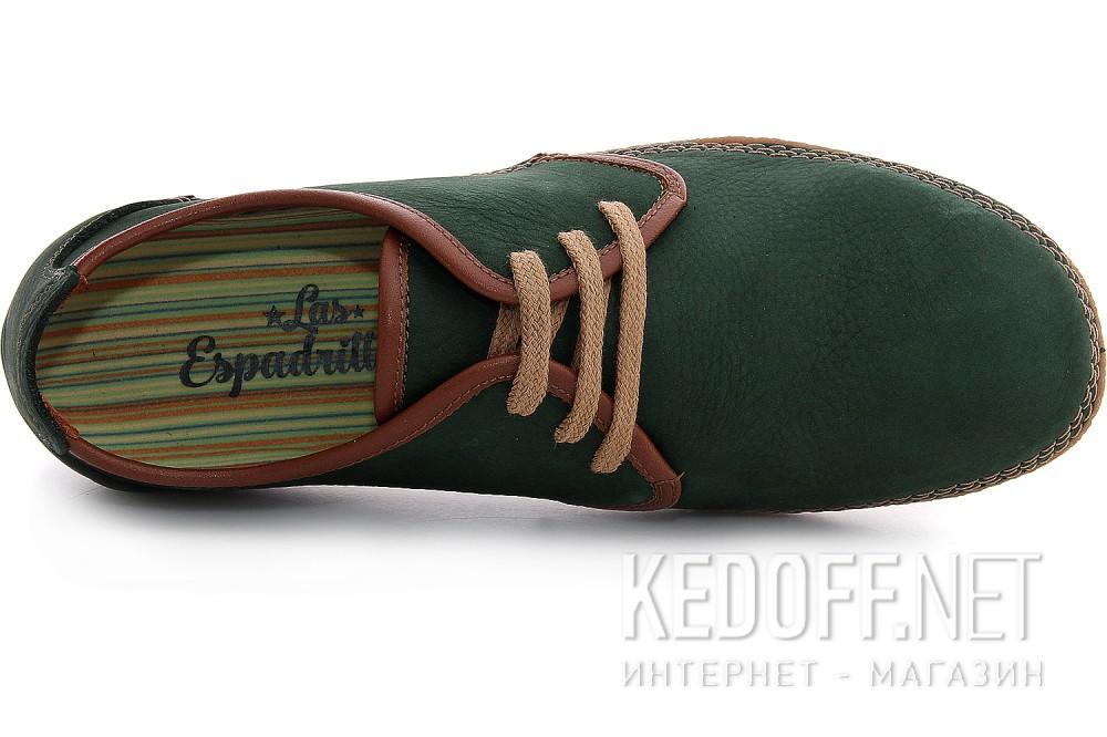 Мужские туфли Las Espadrillas 507-22   (зеленый) описание
