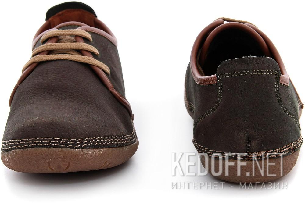 Туфлі Las Espadrillas 507-45 Темно-коричневі