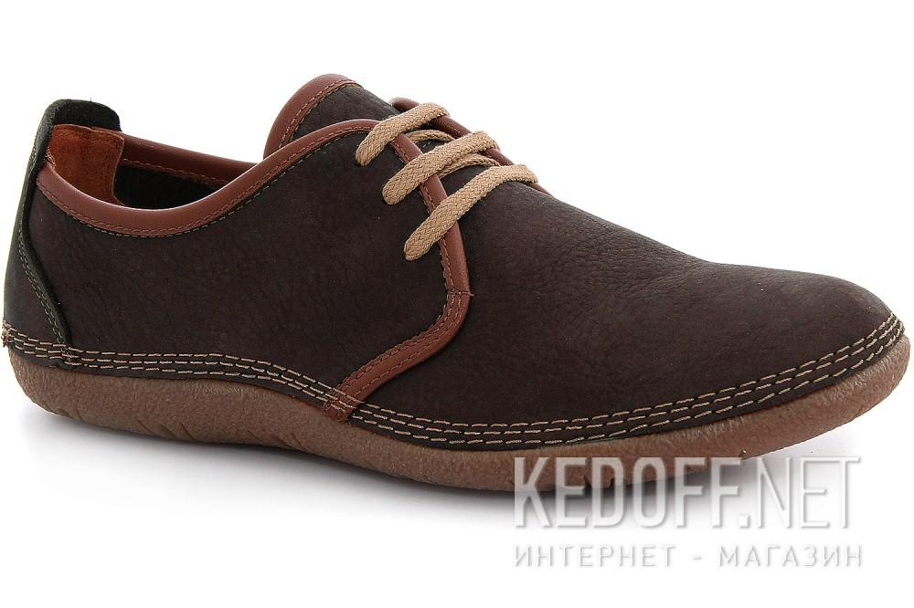 Туфли Las Espadrillas 507-45 Темно-коричневые