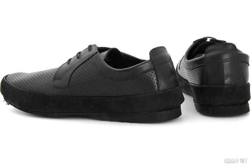 Туфли Subway 2533 Черная кожа